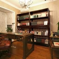 中式书房设计装修效果图片