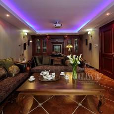 美式风格客厅茶几效果图