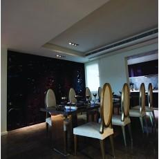 现代风格餐厅背景墙装修效果图大全