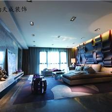 现代风格客厅沙发背景墙装修效果图欣赏