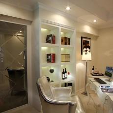 欧式风格书房装修效果图大全图片