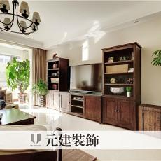 美式风格客厅电视柜装修效果图大全
