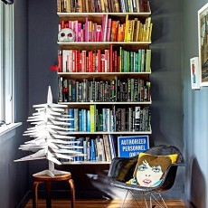 精美小户型书房现代装修效果图片