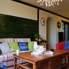 美式风格客厅收纳型茶几效果图