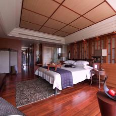 精选面积96平中式三居卧室装修效果图片欣赏