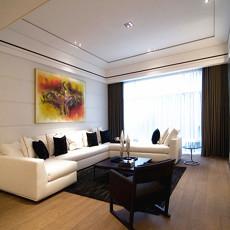 精选94平米三居客厅现代装修欣赏图片大全