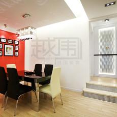 现代风格婚房餐厅背景墙装修效果图