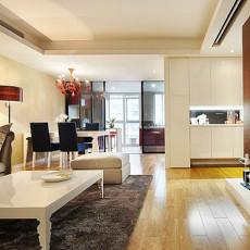 热门面积85平现代二居客厅效果图片大全