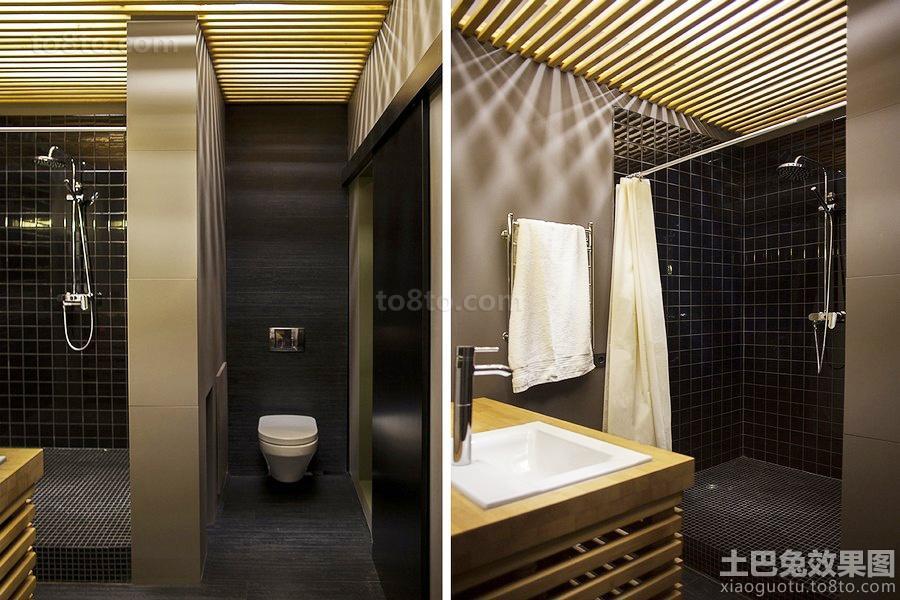 卫生间淋浴室隔断图片大全