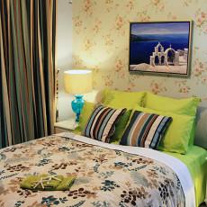 田园地中海风格次卧室装修效果图