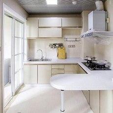 精美97平米三居厨房现代装修设计效果图片欣赏