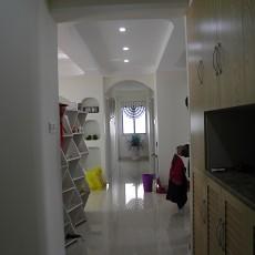 现代风格婚房玄关装修效果图大全