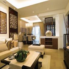 新中式风格客厅装修效果图大全