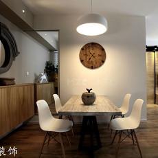 热门73平米二居餐厅简约装修设计效果图片欣赏