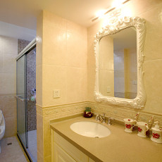 简欧式卫生间镜前灯效果图