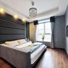 131平米现代复式卧室欣赏图片