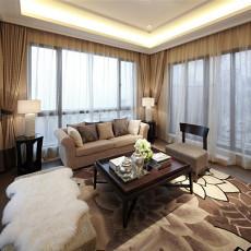 精美大小79平中式二居客厅装修设计效果图片欣赏