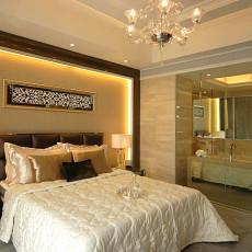 欧式新古典卧室背景墙效果图