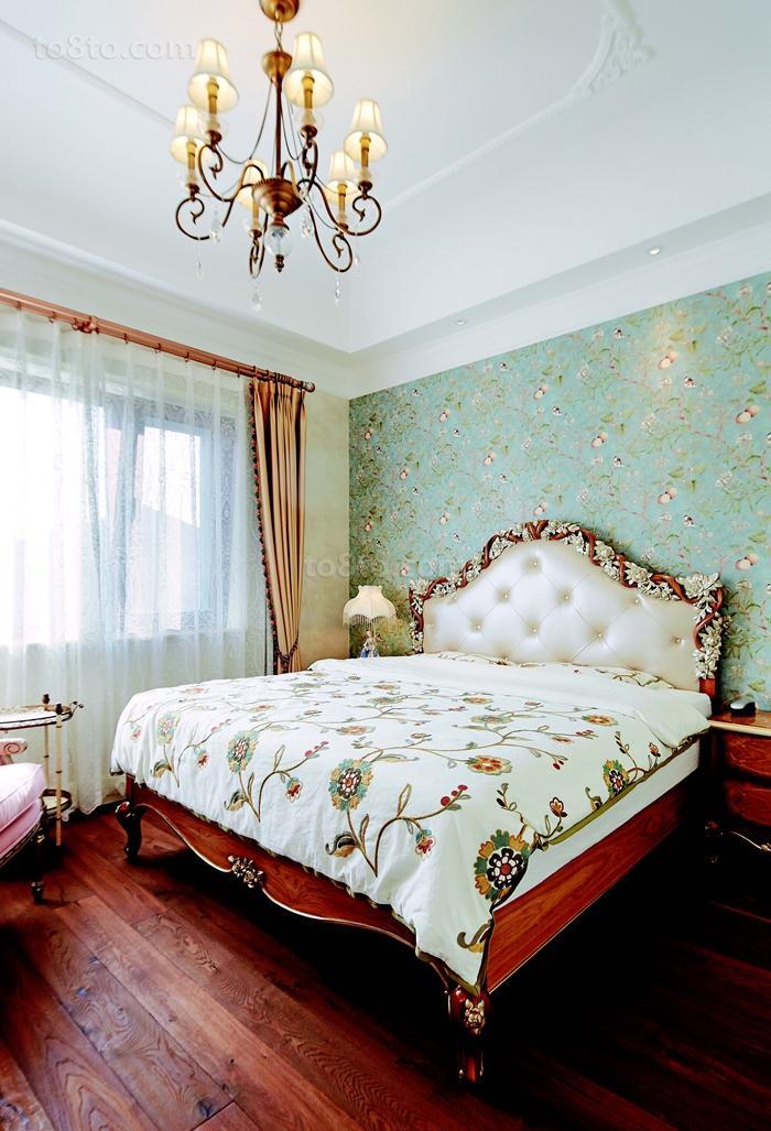 热门田园复式卧室效果图