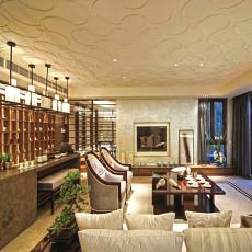 中式古典风格客厅装修效果图