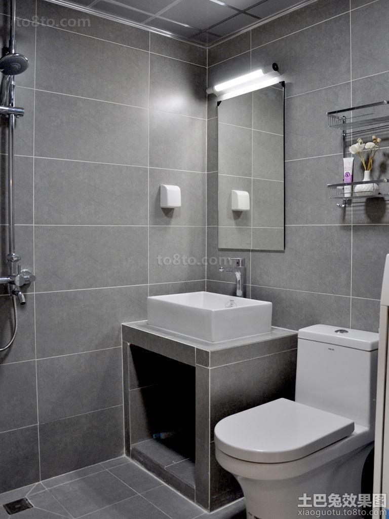 小户型卫生间洗手台效果图片