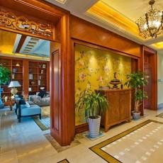精美141平米中式别墅书房装修设计效果图片