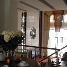 现代中式风格餐厅装修效果图大全