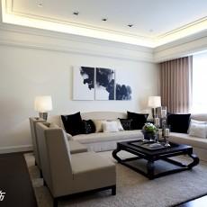 简欧式小客厅装修效果图欣赏