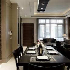 现代简约风格餐厅餐桌椅图片