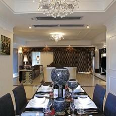 现代新古典风格餐厅装修效果图欣赏