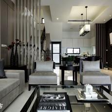 现代简约风格客厅装修效果图大全2014图片