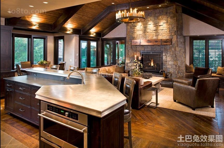 美式风格客厅效果图片