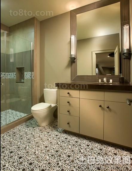 卫生间地砖装修效果图片大全
