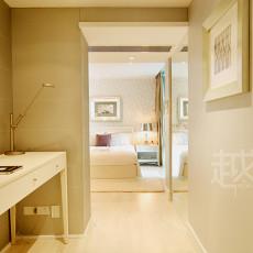 欧式风格卧室卫生间梳妆台效果图