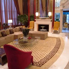 热门现代复式客厅实景图片