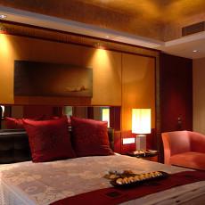 现代新古典风格卧室装修效果图