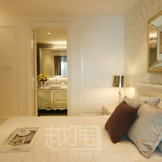 欧式风格带卫生间次卧室装修效果图