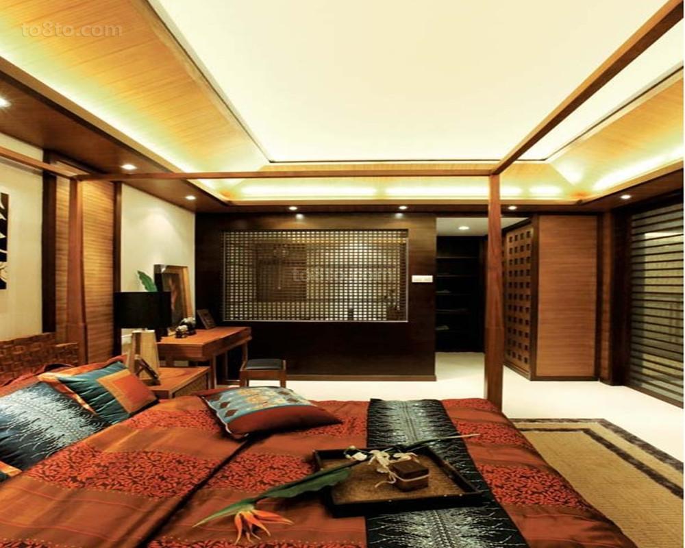 现代简约风格卧室吊顶装修效果图欣赏