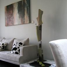 现代简约风格客厅摆件图片