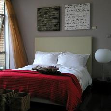 2018精选面积83平小户型卧室现代装修欣赏图片