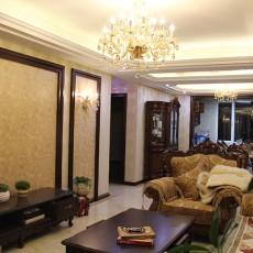 欧式新古典风格客厅吊顶装修效果图大全