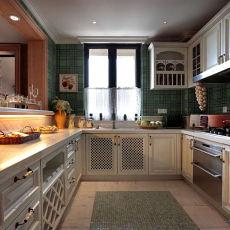 欧式风格整体大厨房装修效果图