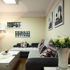 现代风格客厅沙发挂画效果图欣赏