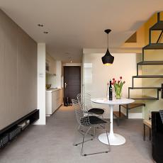 精美面积140平复式客厅现代装修设计效果图片大全