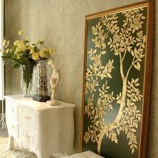 欧式风格客厅角柜图片