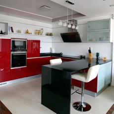 精选二居厨房现代装修设计效果图