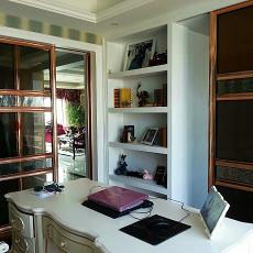 欧式新古典风格书房装修效果图欣赏