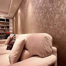 现代风格客厅沙发墙壁纸图片