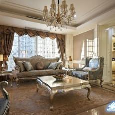 欧式风格客厅茶几图片欣赏