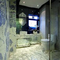 欧式风格卫生间马赛克墙面装修效果图